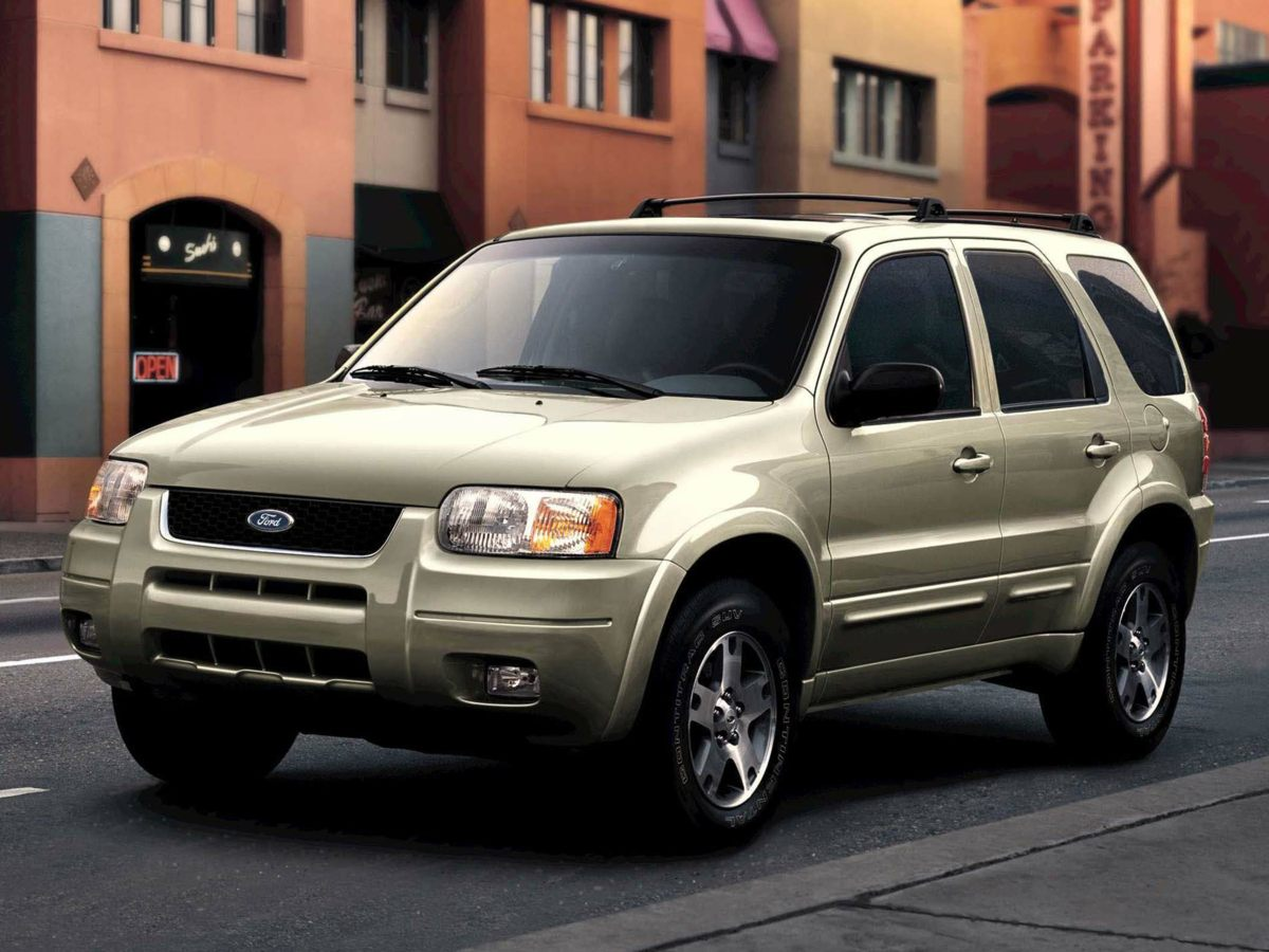 Pre owned 2003 ford escape limited