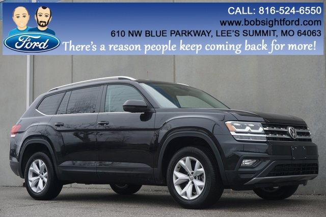 Pre-Owned 2019 Volkswagen Atlas 3.6L V6 SE w/Technology