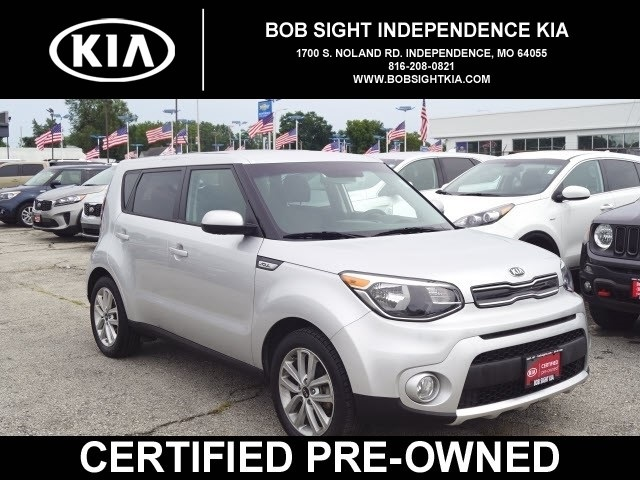 Kia Certified Pre-Owned >> Certified Pre Owned 2018 Kia Soul Plus Fwd 4d Hatchback