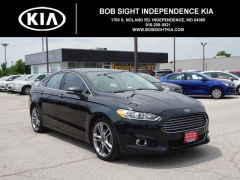 Pre-Owned 2015 Ford Fusion Titanium